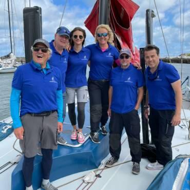 Unsere Crew auf dem Fastnet Race 2021