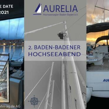 Einladung zum 2. Baden-Badener Hochseeabend am 13.11.2021